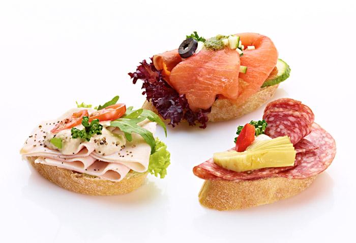 Ciabattasandwiches